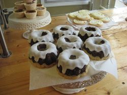 Gluuteny bundt cakes
