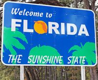 Photo of Florida sign
