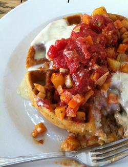 Gluten Free Savory Waffle from City O City