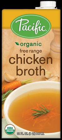 Pacific organice gluten free chicken broth