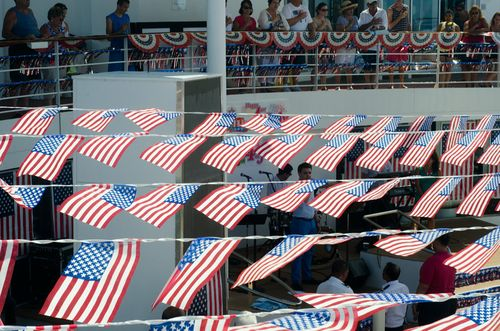 Celebrity Summit deecked Out for July 4th