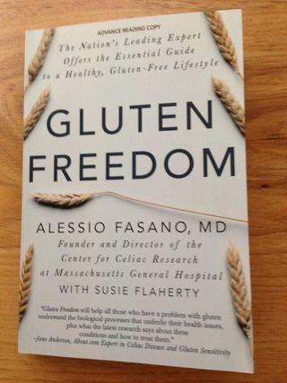 Gluten Freedom book by Dr. Fasano