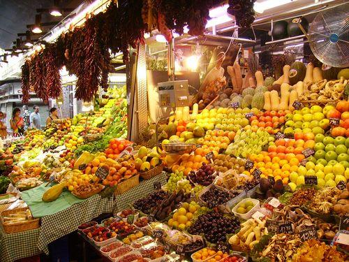 Ellen-Morse-Spain-Food Market photo
