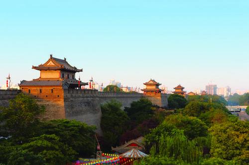 Ancient City Wall Xian