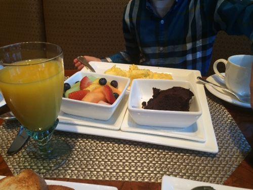 Breakfast at Ritz