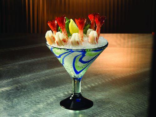 Landry's Seafood shrimp cocktail