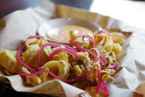 Burtons Grill calamari