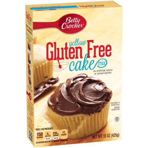 Betty Crocker GF vanilla cake mix