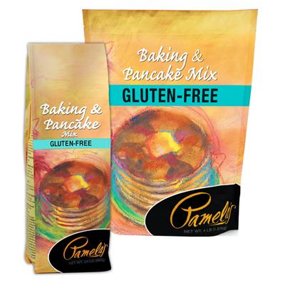 Pamelas gluten free pancake mix