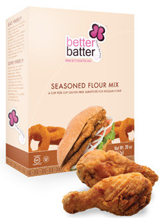Better batter gluten free seasoned flour