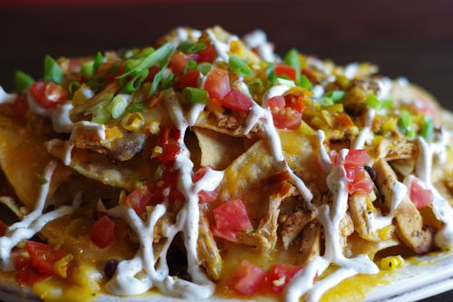 Red Heat nachos