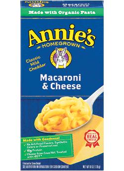 Annie's regular mac n cheese