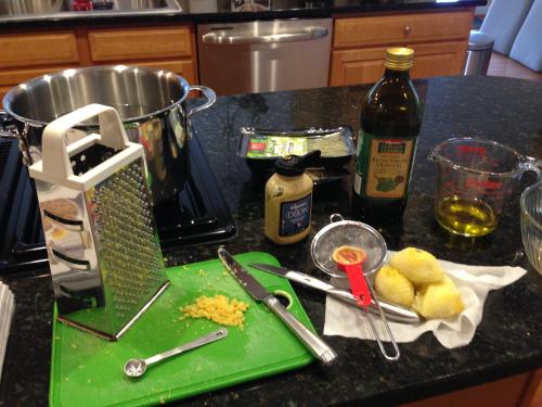 Ingredients for pasta sauce