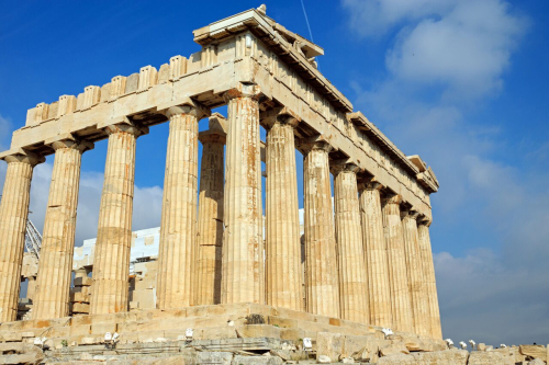 The-parthenon-in-athens