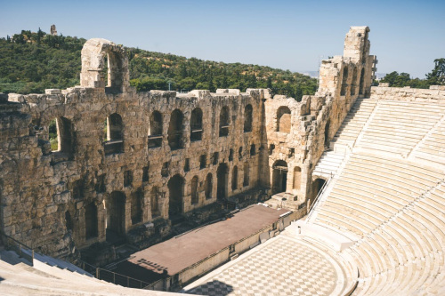 Ancient-theater-of-herodes-atticus-on-acropolis