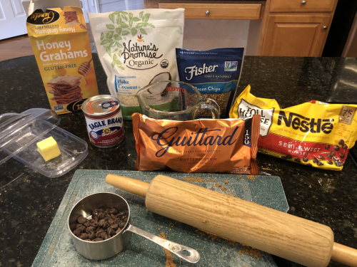 7 Layer Bar ingredients