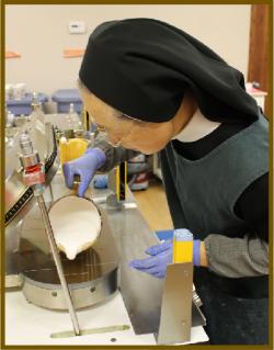 Making gluten free communion wafers