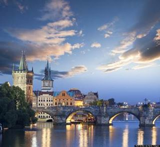 Prague-bridge