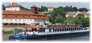 Prague-riverboat