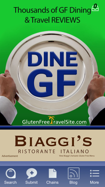 Dine Gluten Free app