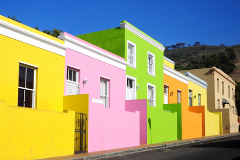 South-Africa-Cape-Malay-Quarter-houses