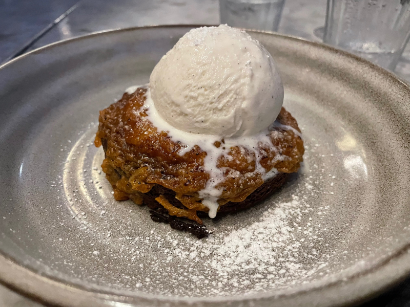 The Henry dessert